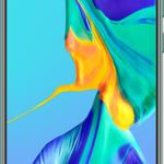 Huawei P30 (128GB Aurora Blue) mobile phone deal